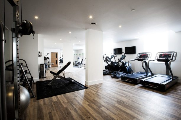Ways to maximise space in office gym design
