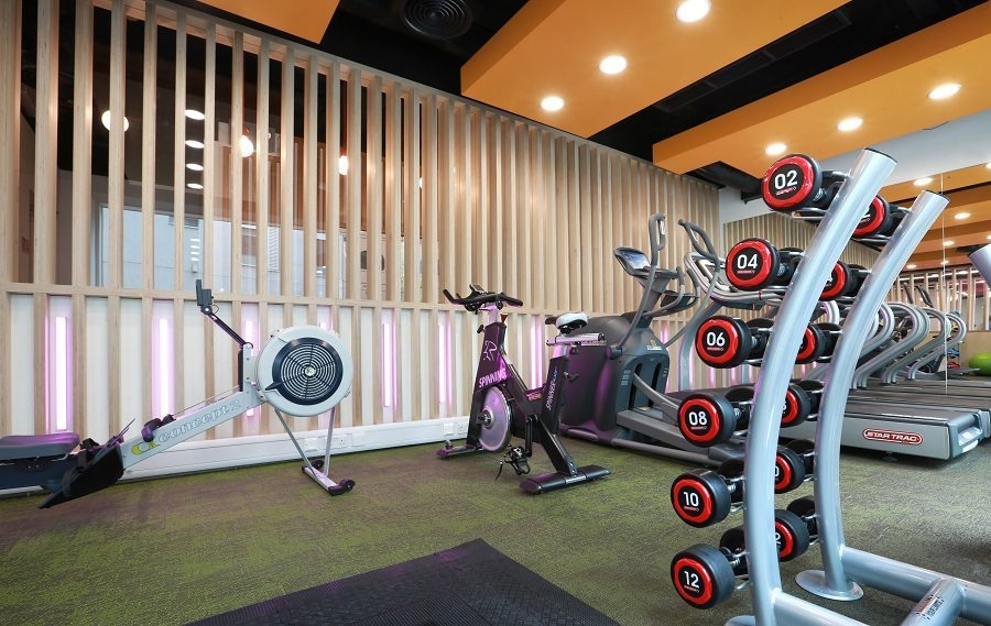 Great Suffolk House Student Gym designed by motive8