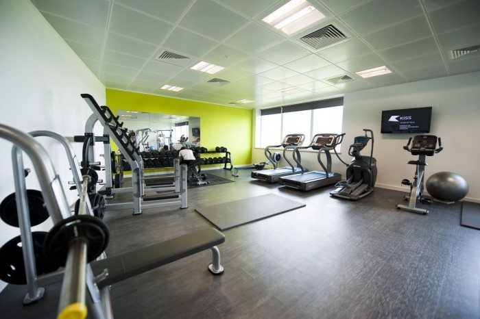 corporate gym fit-out