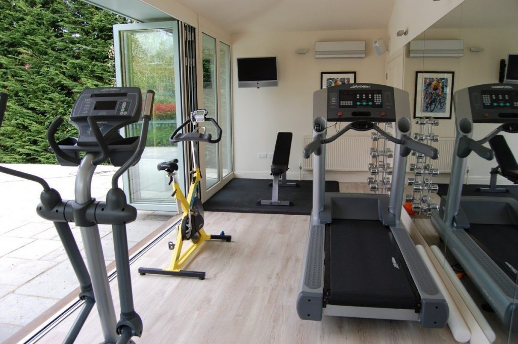 How to separate work from play with your home gym m