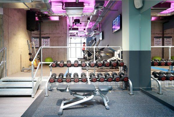 Chapter Spitalfields Student Gym designed by motive8