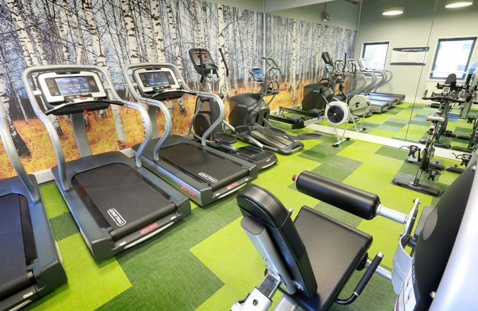 Woodland Court Student Gym by motive8
