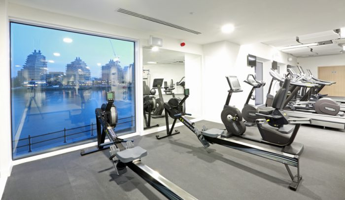 Boutique hotel gym design m8group for 8 design hotel