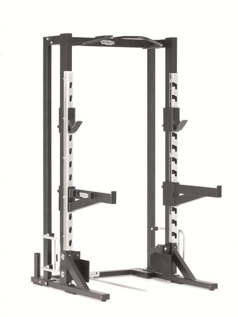 technogym pure strength olympic half rack vs technogym element multipower m8group. Black Bedroom Furniture Sets. Home Design Ideas