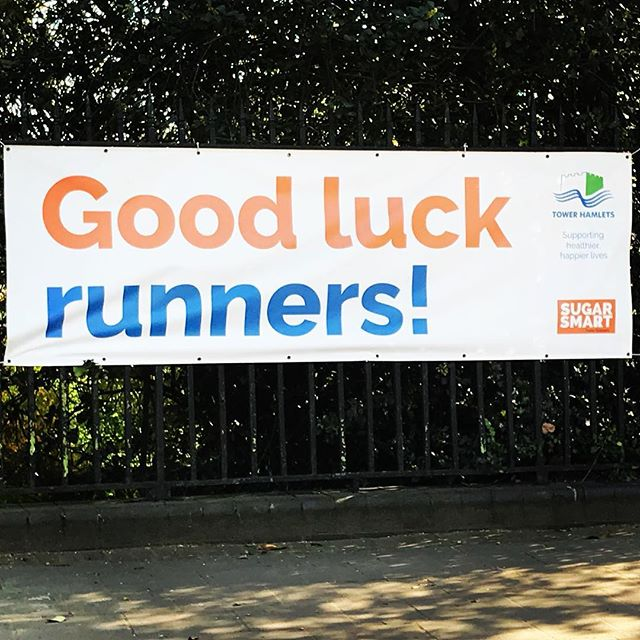 A big shout out to everyone running the @londonmarathon tomorrow. Enjoy every minute of the amazing atmosphere along the way #marathon #running #training #challenge #digdeep #thinkofthefinishline