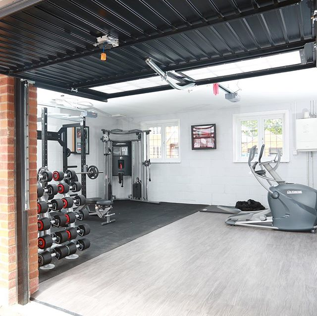Ever thought about converting your garage into your perfect gym