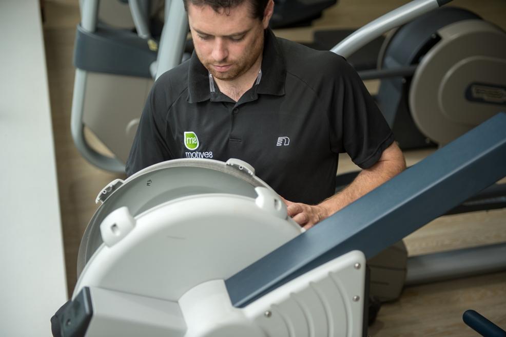 Gym equipment maintenance