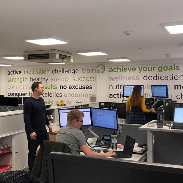 New week, new-look office! Some final tweaks still to be made… #mondaymotivation #officerefresh #morephotoscomingsoon
