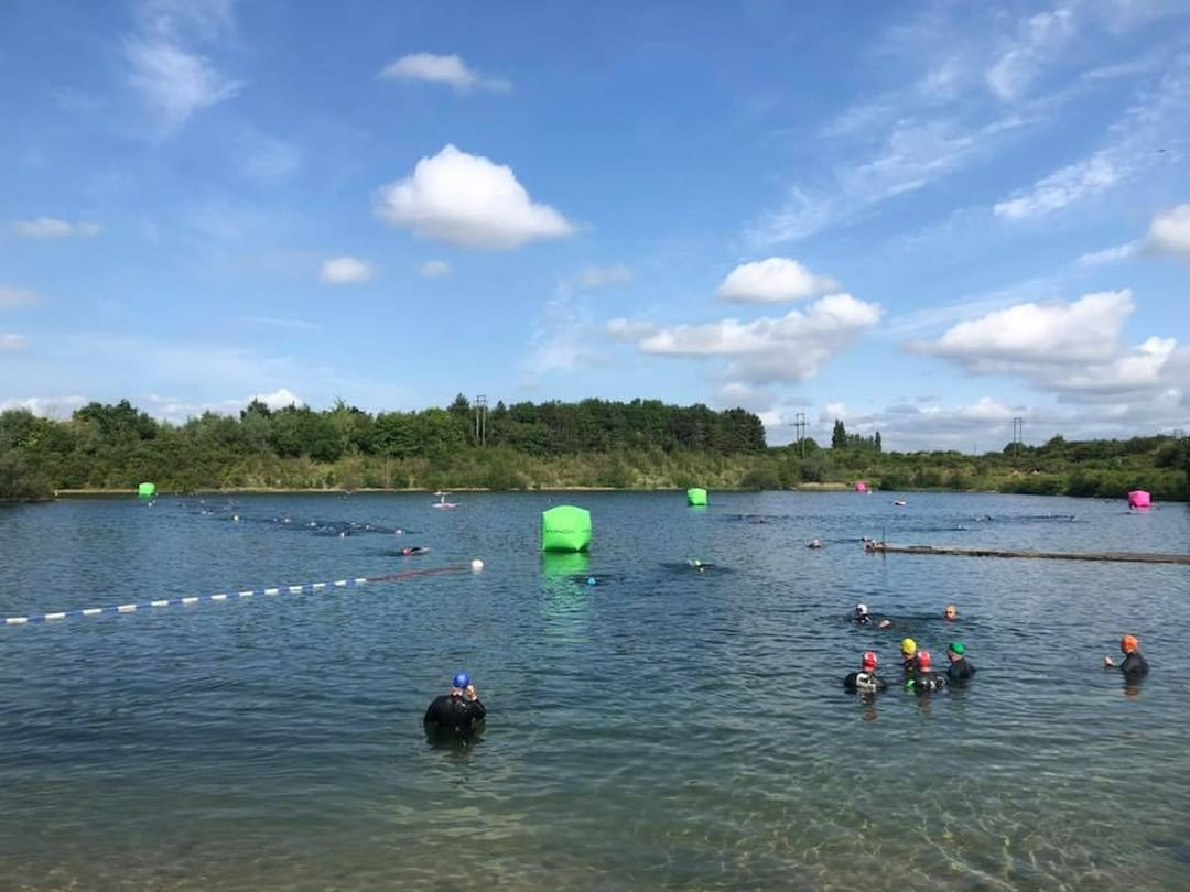 "For motive8 Director Jenny Cromack, wild swimming in Yorkshire's Blue Lagoon takes the top spot for her favourite workout location. ""There's nothing quite like it when you turn to breathe and you're surrounded by trees & greenery. Even though you're working hard, it's strangely tranquil!"""