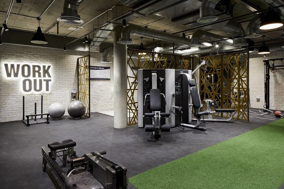 The Forge Residential Gym Development London