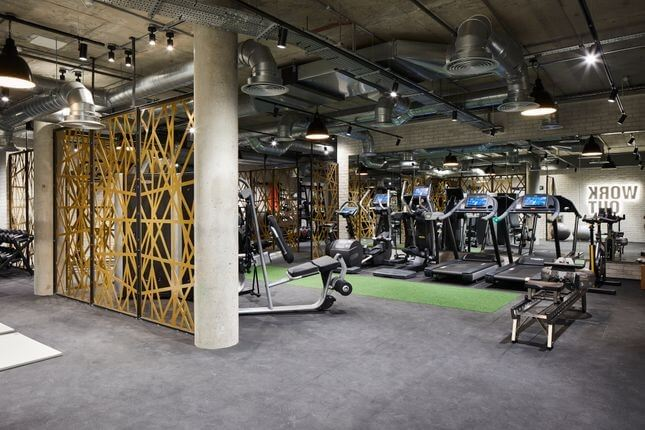 Residental Gym Design of The Forge, London