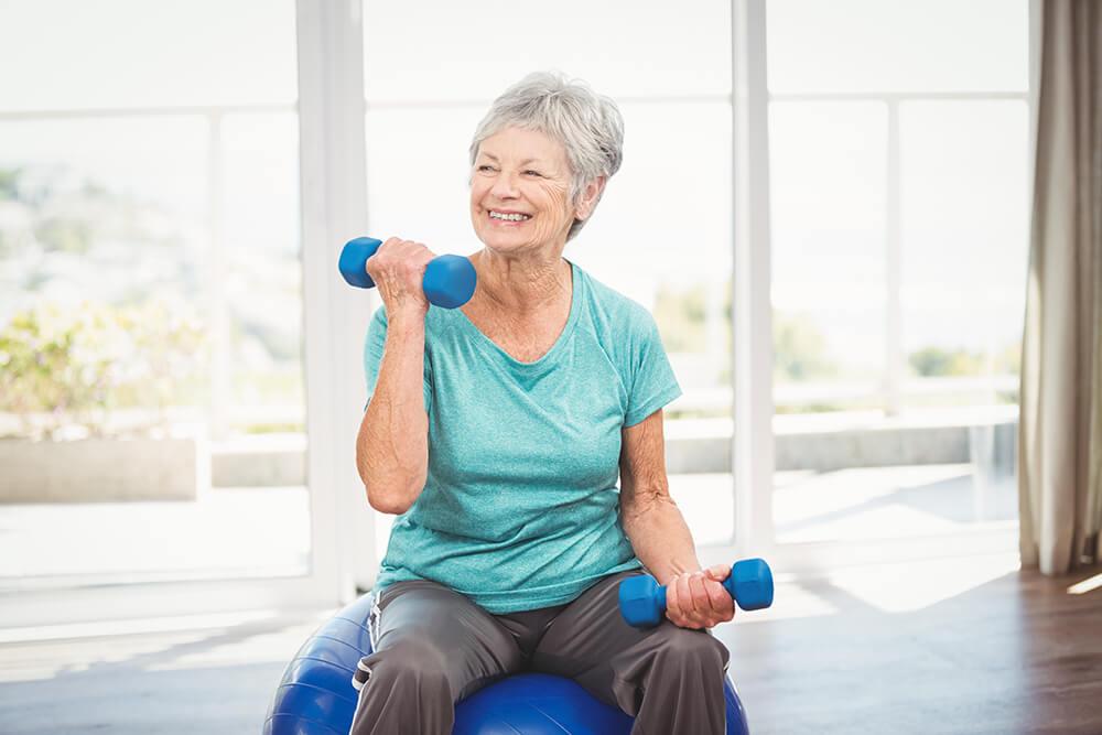 Home gym for older people