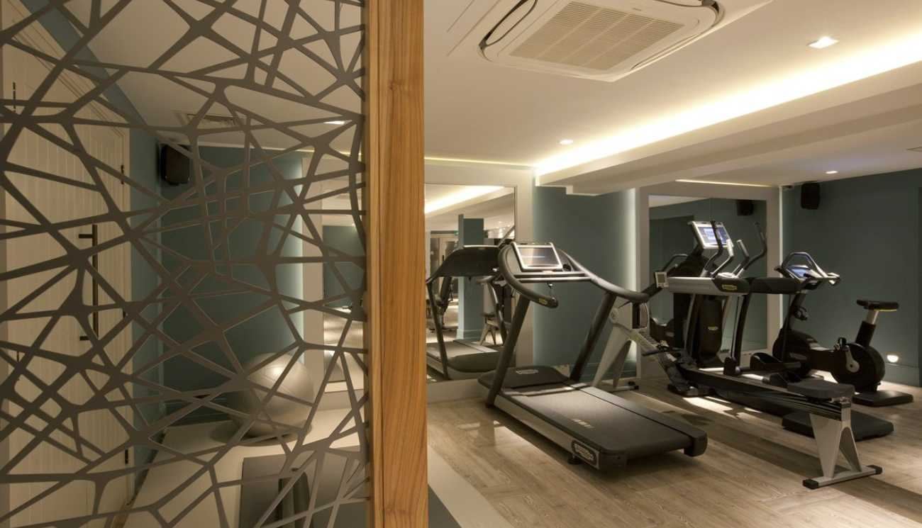 An award-winning gym & spa project